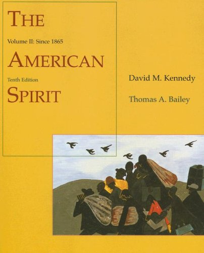American Spirit Since 1865 10th 2002 edition cover