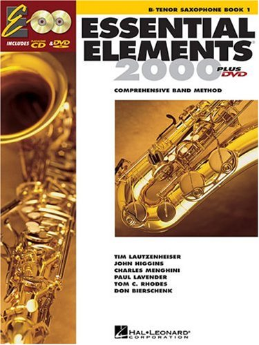 Essential Elements for Band Bb Tenor Saxophone  2004 edition cover