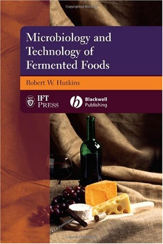 Microbiology and Technology of Fermented Foods   2006 edition cover