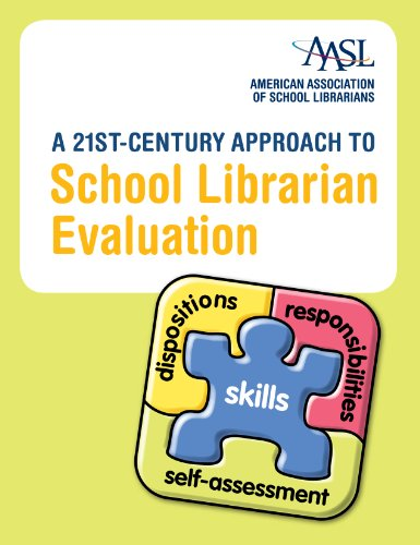 A 21st-Century Approach to School Librarian Evaluation:   2012 edition cover