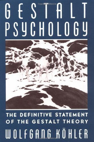 Gestalt Psychology The Definitive Statement of the Gestalt Theory 2nd (Reprint) edition cover