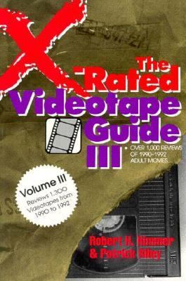 X-Rated Videotape Guide, 1990-1992  N/A 9780879758189 Front Cover