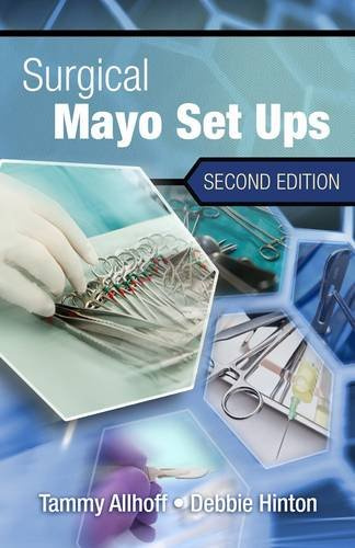 Surgical Mayo Setups, Spiral Bound Version  2nd 2013 (Revised) 9781111138189 Front Cover