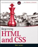 Beginning HTML and CSS   2012 edition cover