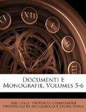 Documenti E Monografie N/A edition cover