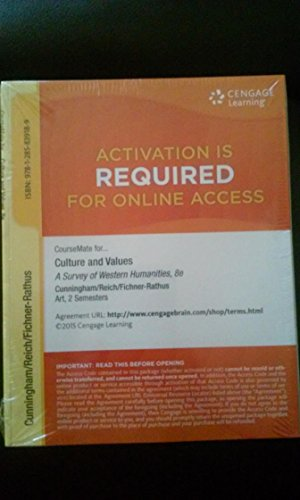CULTURE+VALUES:SURVEY OF HUMAN.-ACCESS  N/A 9781285839189 Front Cover
