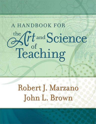 Handbook for the Art and Science of Teaching   2009 9781416608189 Front Cover