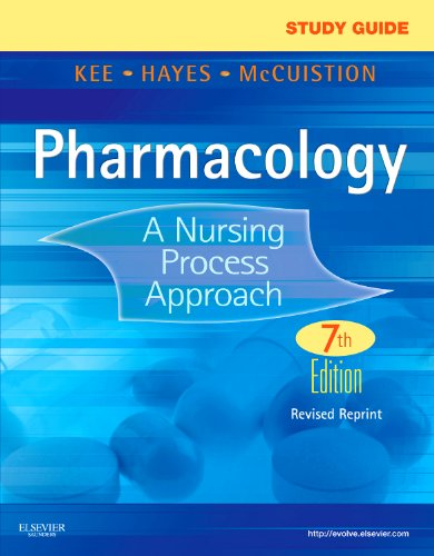 Study Guide for Pharmacology - Revised Reprint A Nursing Process Approach 7th 2012 edition cover