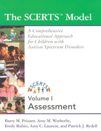 SCERTS Model A Comprehensive Educational Approach for Children with Autism Spectrum Disorders  2006 edition cover