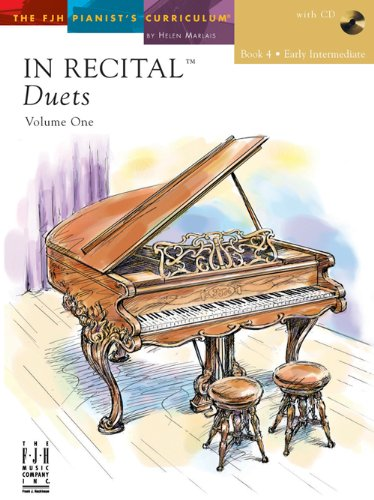 IN RECITAL DUETS:BK.4 EARLY IN 1st edition cover