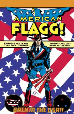 American Flagg!  N/A edition cover