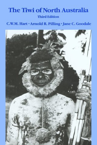 Tiwi of North Austraila  3rd 1988 edition cover