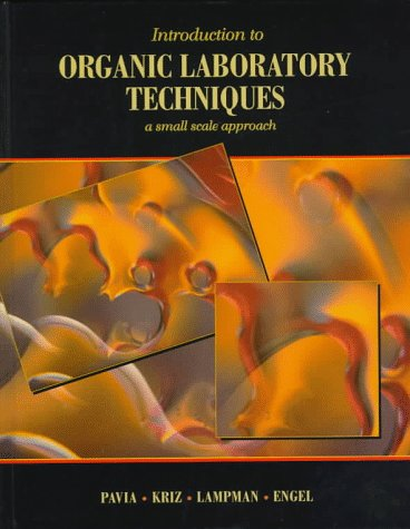 Introduction to Organic Laboratory Techniques Small-Scale Approach  1998 edition cover