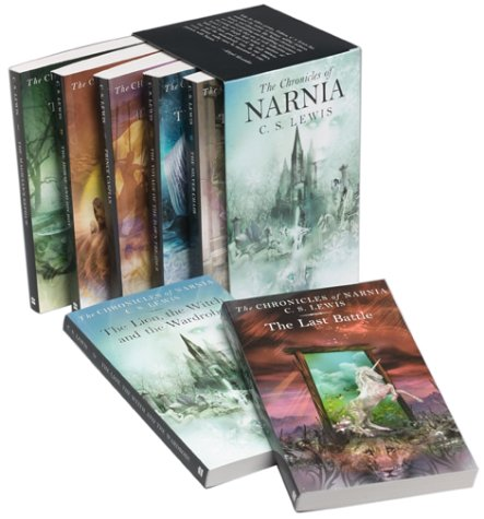 Chronicles of Narnia   2002 edition cover