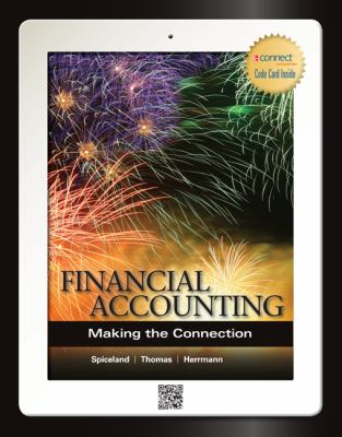 Financial Accounting Making the Connection  2013 edition cover