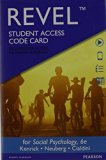 Social Psychology Revel Access Card: Goals in Interaction 6th 2014 9780133940190 Front Cover