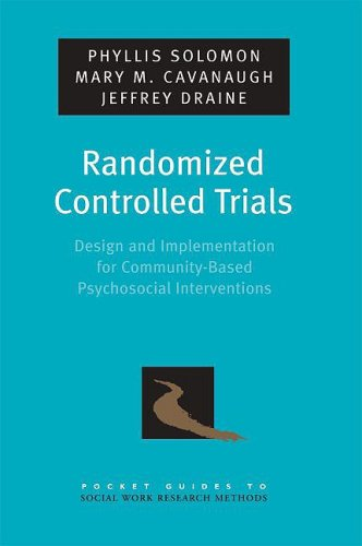 Randomized Controlled Trials Design and Implementation for Community-Based Psychosocial Interventions  2009 edition cover