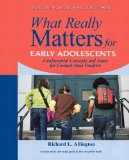 What Really Matters for Middle School Readers From Research to Practice  2015 edition cover