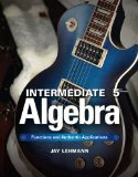 Intermediate Algebra Functions and Authentic Applications 5th 2015 edition cover