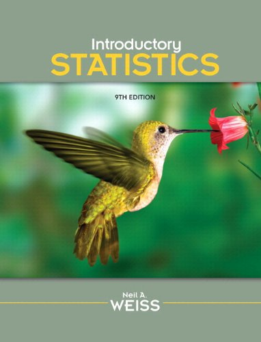 Introductory Statistics  9th 2012 edition cover