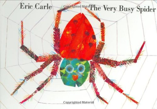 Very Busy Spider   1984 9780399229190 Front Cover