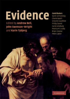 Evidence   2008 9780521710190 Front Cover