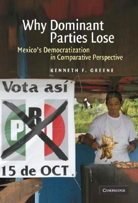 Why Dominant Parties Lose Mexico's Democratization in Comparative Perspective  2007 9780521877190 Front Cover
