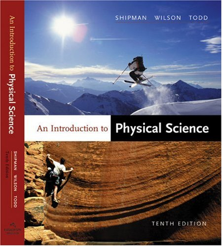 Introduction to Physical Science  10th 2003 edition cover
