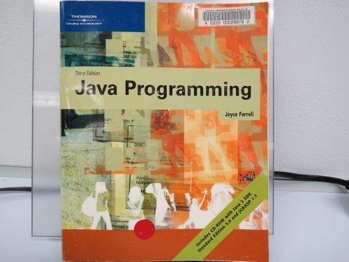 Java Programming  3rd 2006 (Revised) edition cover