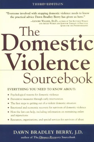 Domestic Violence Sourcebook  3rd 2000 (Revised) edition cover