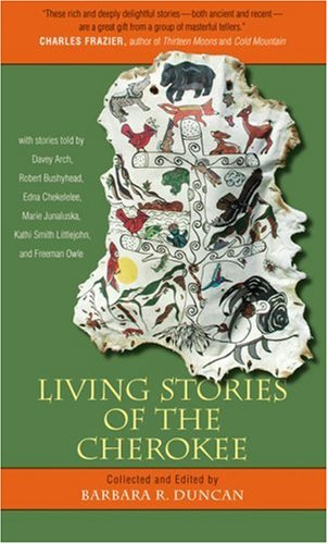 Living Stories of the Cherokee   1998 edition cover