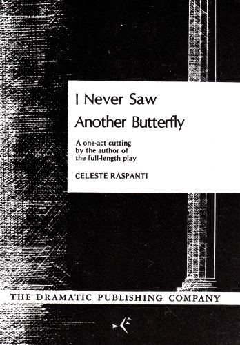 I Never Saw Another Butterfly - One Act N/A edition cover