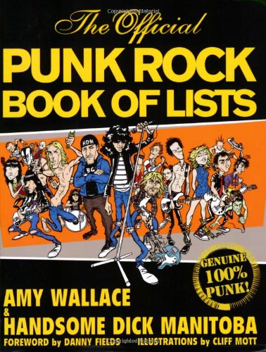 Official Punk Rock Book of Lists   2007 9780879309190 Front Cover
