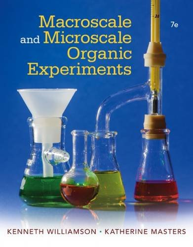 Macroscale and Microscale Organic Experiments:   2016 9781305577190 Front Cover