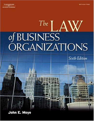 Law of Business Organizations  6th 2005 (Revised) 9781401820190 Front Cover
