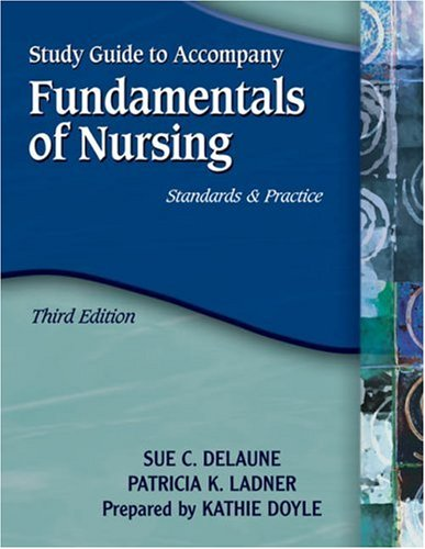 Fundamentals of Nursing  3rd 2006 edition cover