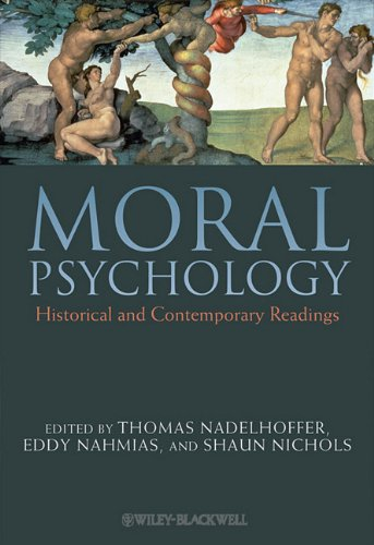 Moral Psychology Historical and Contemporary Readings  2010 edition cover