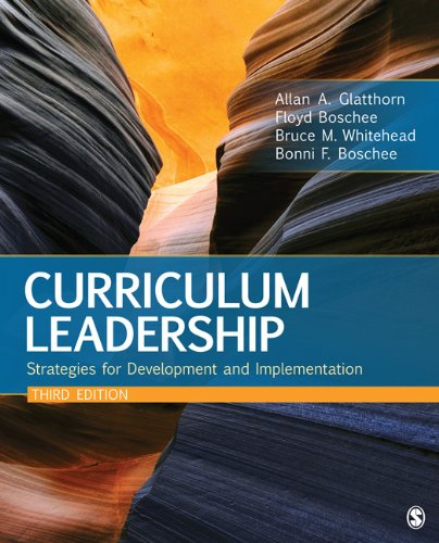 Curriculum Leadership Strategies for Development and Implementation 3rd 2012 edition cover