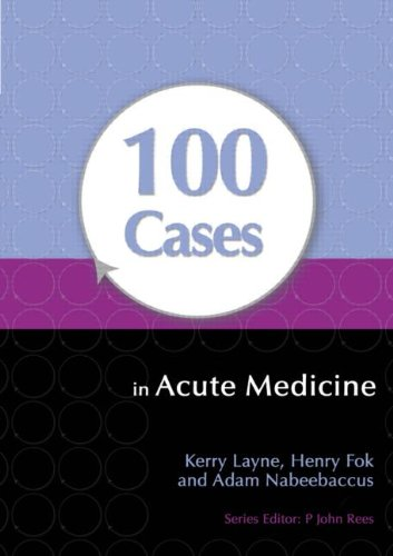 100 Cases in Acute Medicine   2013 edition cover