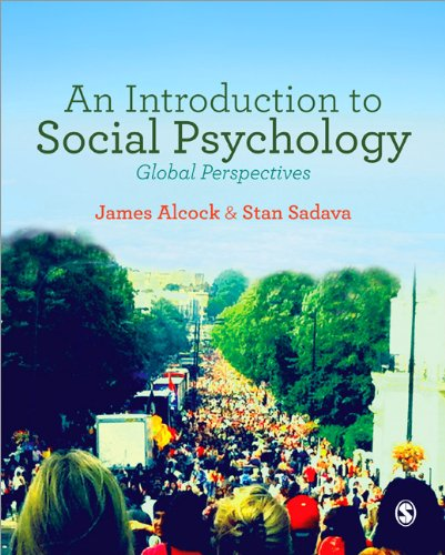 Introduction to Social Psychology Global Perspectives  2014 edition cover