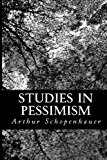 Studies in Pessimism  N/A 9781490576190 Front Cover