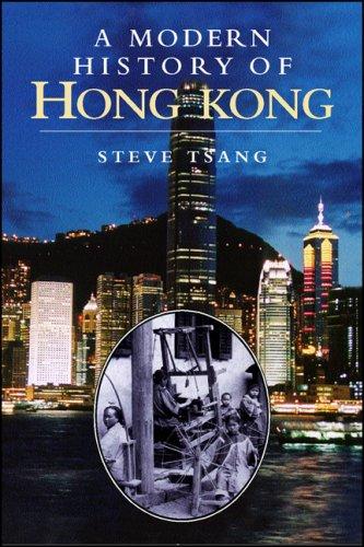 Modern History of Hong Kong   2007 edition cover