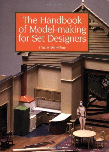 Handbook of Model-Making for Set Designers   2008 (Handbook (Instructor's)) edition cover