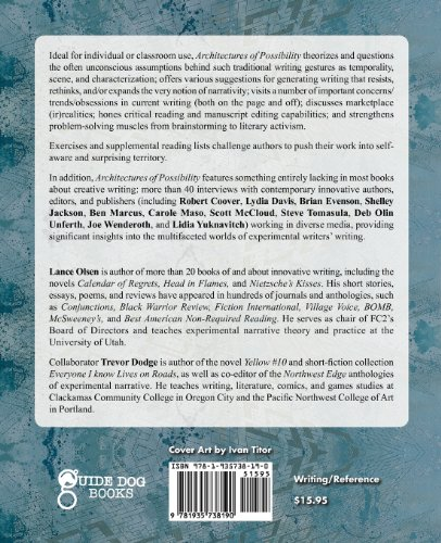 Architectures of Possibility: After Innovative Writing  0 edition cover