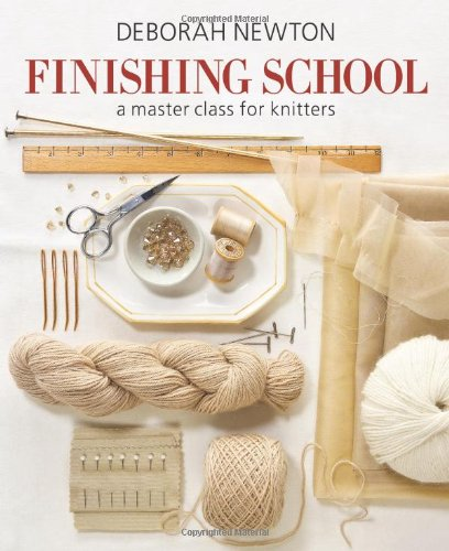 Finishing School Master Class Knitters   2011 9781936096190 Front Cover