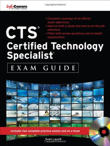 CTS Certified Technology Specialist Exam Guide   2011 edition cover
