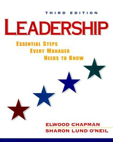 Leadership Essential Steps Every Manager Needs to Know 3rd 2000 (Revised) edition cover