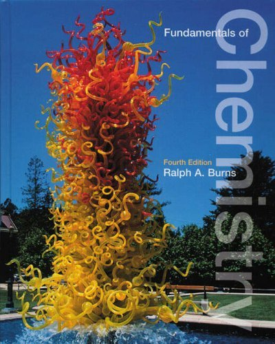 Fundamentals of Chemistry  4th 2003 (Revised) edition cover