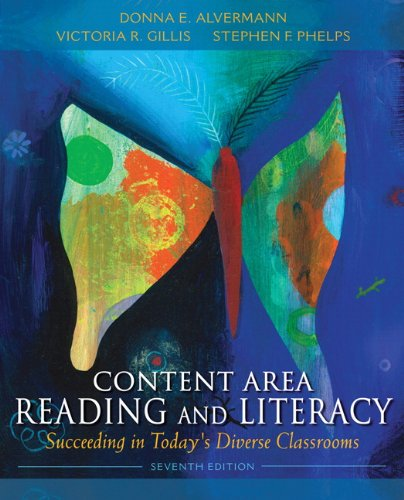 Content Area Reading and Literacy Succeeding in Today's Diverse Classrooms 7th 2013 (Revised) edition cover