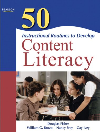 50 Instructional Routines to Develop Content Literacy  2nd 2011 edition cover